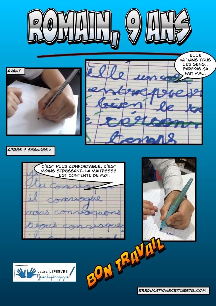 graphopédagogue rééducation écriture Laura Lefebvre