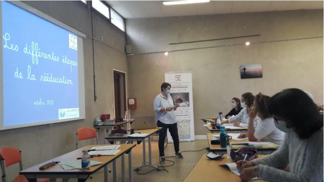 Formation de graphopédagogie,rééducation écriture,  une nouvelle promotion de graphopédagogue partout en France